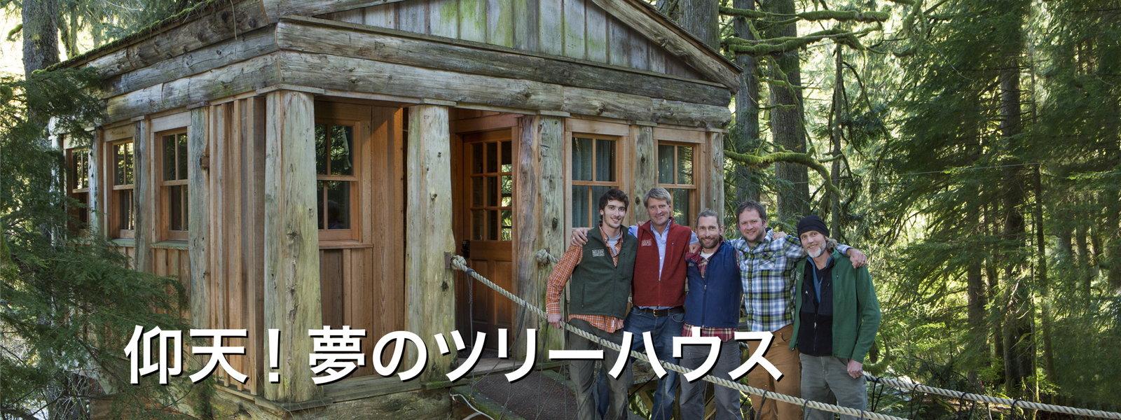 仰天! 夢のツリーハウス 動画