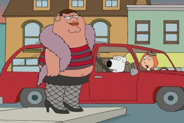 peter griffin prostituta