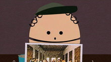 South Park: Macaroni Picture of The Last Supper