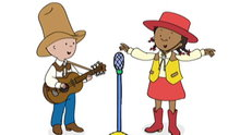 Caillou: Caillou the Musician (Caillou's World of Wonder)