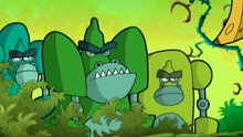 Cyberchase: Harriet the Hippo and the Mean Green