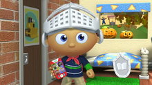 Super Why!: The Ghost Who Was Afraid of Halloween (The Ghost Who Was Afraid of Halloween & Other Stories)