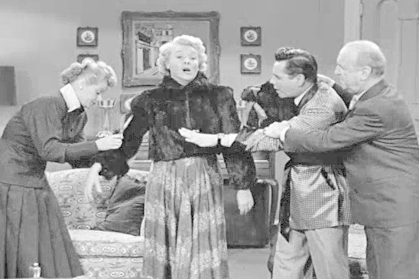 Image result for i love lucy the fur coat