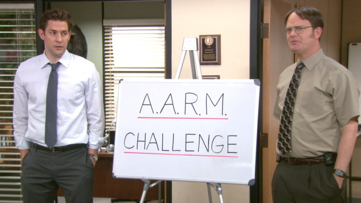 The Office - A.A.R.M. Challenge