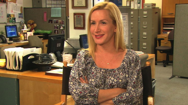 The Office - Angela Kinsey Discusses the Office Series Finale