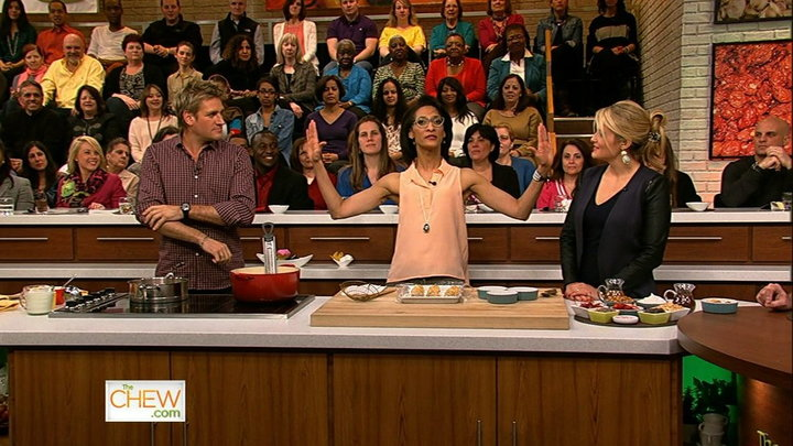 The Chew - Curtis Stone Heats up the Kitchen, Part 2