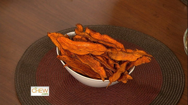 The Chew - Daphnes Baked Sweet Potato Chips