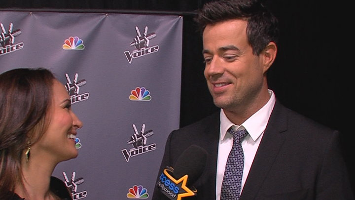 Access Hollywood - The Voice: Carson Daly Talks Eliminations and Christina Aguileras Return