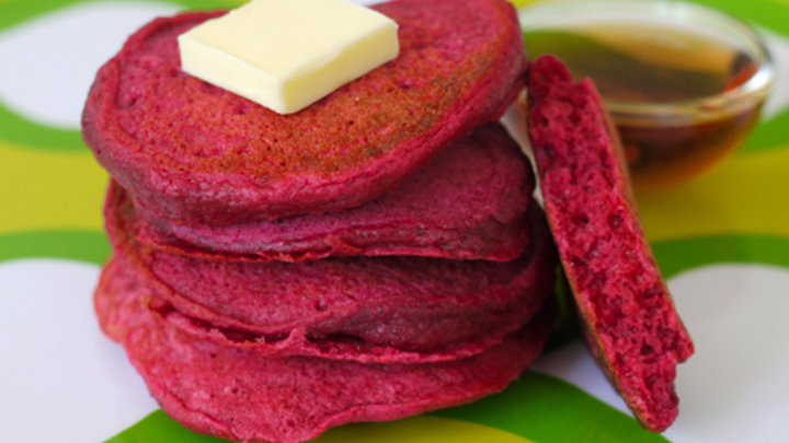 Howdini - How to Make Beet Pancakes