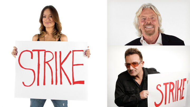 Matt Damon Goes on Strike! - s1 | e4 - Richard Branson, Bono, and Olivia Wilde Go On Strike