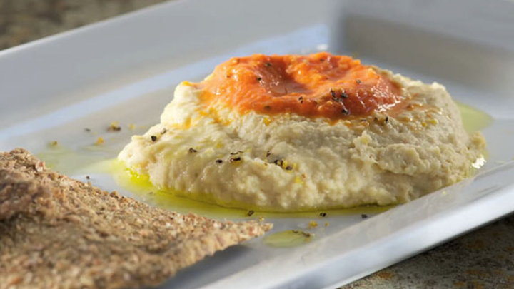 Howdini Food - How to Make a Mediterranean Hummus Dip