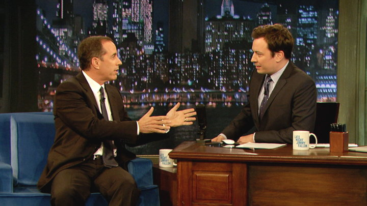 Late Night with Jimmy Fallon - Jerry Seinfeld On Minivan Decals
